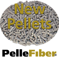 New PelleFiber Pelletzied Additives for Rubber and Thermoplastics