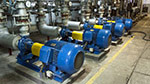 Fiber polymer additives used in pumps